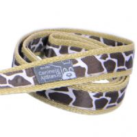 DOG LEAD - CLASSIC ANIMAL PRINT GIRAFFE